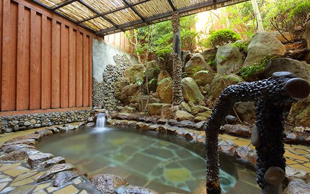 新・庭園風呂(外風呂)イメージ