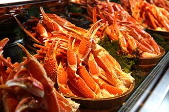 バイキング 蟹イメージ