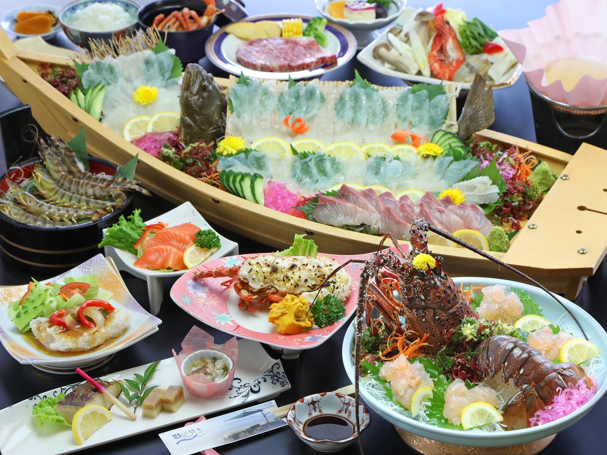 伊勢エビコースの料理イメージ